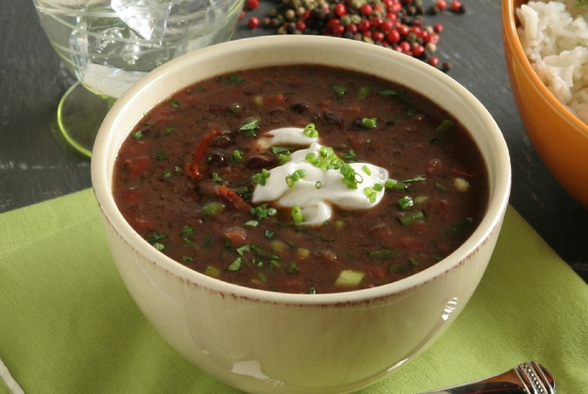 Black Bean Soup Recipe - Pain Doctor