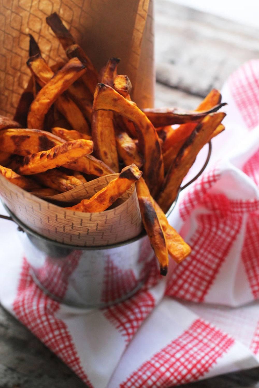 Recipe: Baked Sweet Potato Fries With Sweet Potato Ketchup
