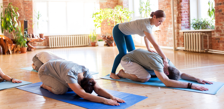 10 Beautifully Easy Yoga Poses For Upper Back Pain   PainDoctor.com